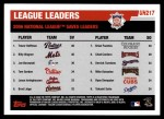 2006 Topps Update #217   -  Trevor Hoffman / Billy Wagner / Joe Borowski Leaders Back Thumbnail