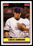2006 Topps Update #282   -  Carlos Zambrano All-Star Front Thumbnail