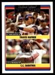 2006 Topps Update #315   -  Travis Hafner / C.C. Sabathia Indians Team Leaders Front Thumbnail