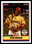 2006 Topps Update #283  Ryan Howard  Front Thumbnail