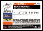 2006 Topps Update #169  Matt Albers  Back Thumbnail