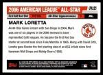 2006 Topps Update #225   -  Mark Loretta All-Star Back Thumbnail