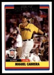 2006 Topps Update #285  Miguel Cabrera  Front Thumbnail
