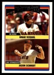 2006 Topps Update #304   -  Omar Vizquel / Jason Schmidt Giants Team Leaders Front Thumbnail