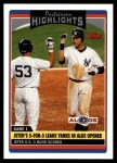 2006 Topps Update #183   -  Derek Jeter Postseason Highlights Front Thumbnail