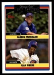 2006 Topps Update #301   -  Carlos Zambrano / Juan Pierre Cubs Team Leaders Front Thumbnail