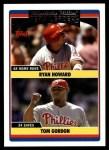 2006 Topps Update #292   -  Ryan Howard / Tom Gordon Phillies Team Leaders Front Thumbnail
