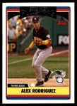 2006 Topps Update #220   -  Alex Rodriguez All-Star Front Thumbnail