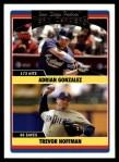 2006 Topps Update #302   -  Adrian Gonzalez / Trevor Hoffman Padres Team Leaders Front Thumbnail