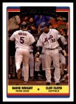 2006 Topps Update #327  Cliff Floyd / David Wright  Front Thumbnail