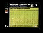 2007 Topps Update #2  Shannon Stewart  Back Thumbnail