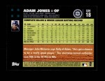 2007 Topps Update #18  Adam Jones  Back Thumbnail