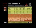 2007 Topps Update #55  Mike Maroth  Back Thumbnail