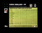 2007 Topps Update #42  Chris Snelling  Back Thumbnail