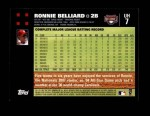 2007 Topps Update #7  Ronnie Belliard  Back Thumbnail