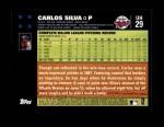 2007 Topps Update #29  Carlos Silva  Back Thumbnail