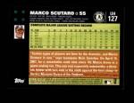 2007 Topps Update #127  Marco Scutaro  Back Thumbnail