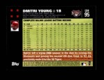 2007 Topps Update #95  Dmitri Young  Back Thumbnail
