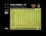 2007 Topps Update #59  Ryan Doumit  Back Thumbnail