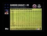 2007 Topps Update #107  Damion Easley  Back Thumbnail