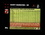 2007 Topps Update #47  Scott Hairston  Back Thumbnail