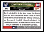 2008 Topps Updates #83   -  George Sherrill All-Star Back Thumbnail