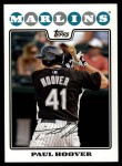 2008 Topps Updates #149  Paul Hoover  Front Thumbnail