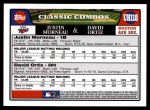 2008 Topps Updates #118  Justin Morneau  Back Thumbnail