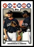 2008 Topps Updates #118  Justin Morneau  Front Thumbnail