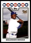 2008 Topps Updates #111  Brandon Boggs  Front Thumbnail
