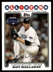 2008 Topps Updates #56   -  Roy Halladay All-Star Front Thumbnail