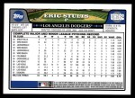 2008 Topps Updates #162  Eric Stults  Back Thumbnail