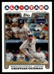 2008 Topps Updates #23   -  Cristian Guzman All-Star Front Thumbnail
