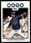 2008 Topps Updates #48  Grant Balfour  Front Thumbnail