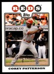 2008 Topps Updates #74  Corey Patterson  Front Thumbnail