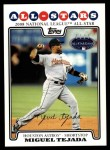 2008 Topps Updates #28   -  Miguel Tejada All-Star Front Thumbnail