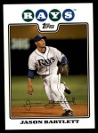 2008 Topps Updates #43  Jason Bartlett  Front Thumbnail
