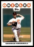 2008 Topps Updates #70  George Sherrill  Front Thumbnail
