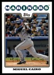 2008 Topps Updates #163  Miguel Cairo  Front Thumbnail