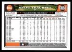 2008 Topps Updates #152  Steve Trachsel  Back Thumbnail