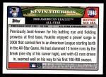 2008 Topps Updates #46   -  Kevin Youkilis All-Star Back Thumbnail