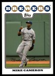 2008 Topps Updates #130  Mike Cameron  Front Thumbnail