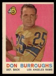 1959 Topps #59  Don Burroughs  Front Thumbnail