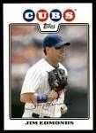 2008 Topps Updates #60  Jim Edmonds  Front Thumbnail