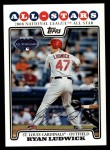 2008 Topps Updates #29   -  Ryan Ludwick All-Star Front Thumbnail