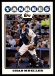 2008 Topps Updates #69  Chad Moeller  Front Thumbnail
