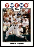2008 Topps Updates #115  Mike Lamb  Front Thumbnail