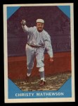 1960 Fleer #2  Christy Mathewson  Front Thumbnail