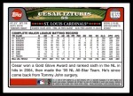 2008 Topps Updates #55  Cesar Izturis  Back Thumbnail