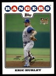 2008 Topps Updates #45  Eric Hurley  Front Thumbnail